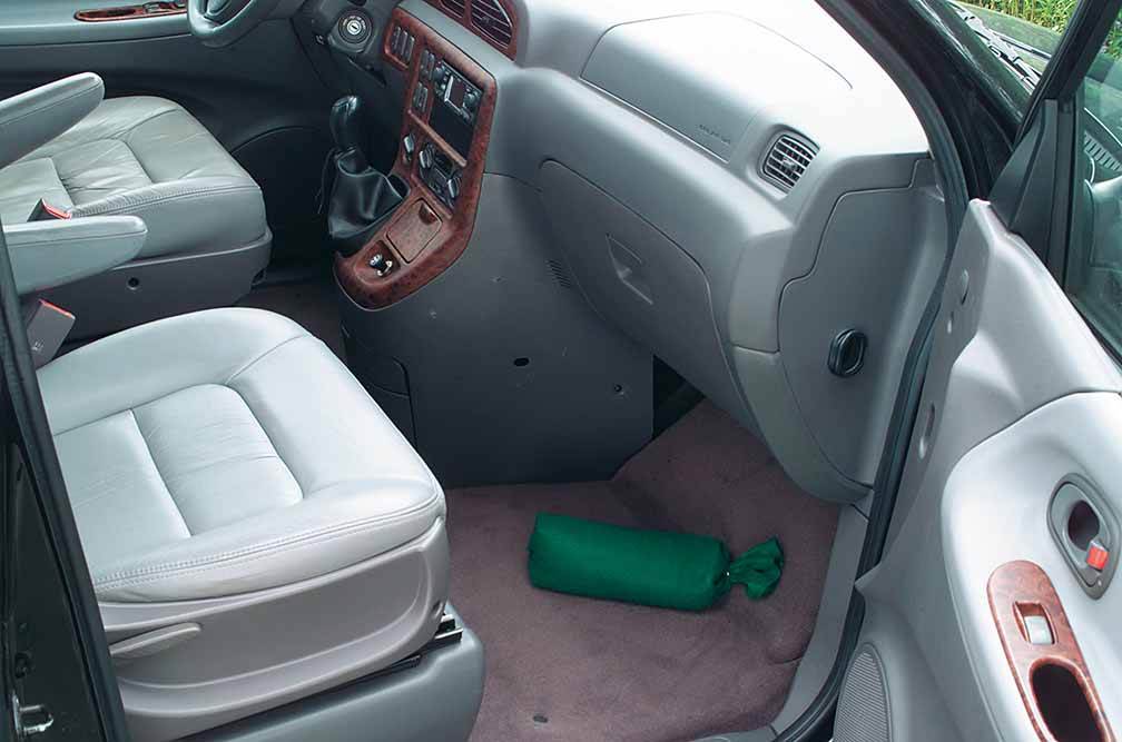 multi dry example of use in car