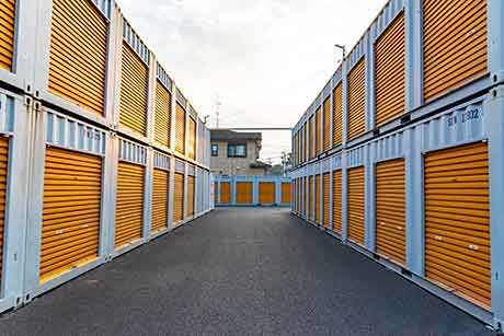 Self Storage Container Anlage