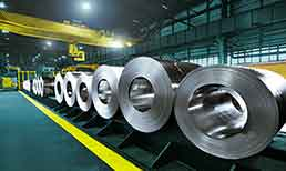 Example of use steel industry
